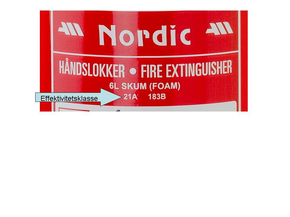 kaste pulver brannslukningsapparat